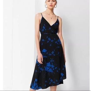 3/$30 Urban Outfitters Wrap Midi Floral Dress